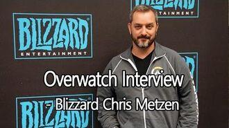 Overwatch Blizzcon 2014 Interview - Chris Metzen