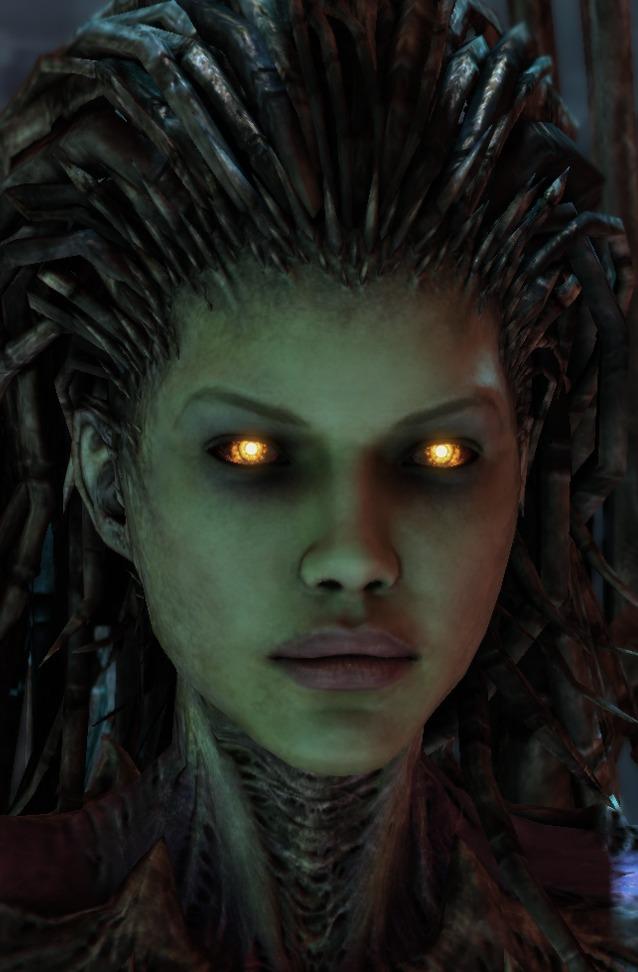 Sarah Kerrigan Wings Of Liberty Starcraft Wiki Fandom