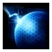 Ícone SCII Aprimoramento Protoss Escudos de Plasma Nível3