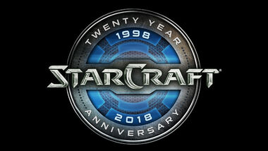 Logo StarCraft 20 Anos