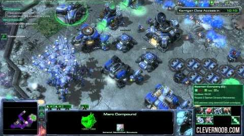The Moebius Factor Starcraft II Brutal Mode Walkthrough (HD - Max Settings)