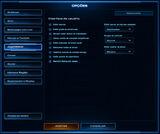 Menu Opções do Jogo SCII Jogabilidade01