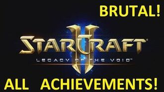 Starcraft 2 - TEMPLAR'S RETURN - Brutal (All Achievements) LOTV 17