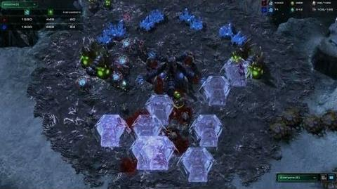 StarCraft II Heart of the Swarm - Battle Report (Protoss vs Zerg)