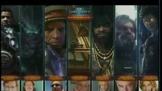 BlizzCon 2009 - Starcraft 2 - Lore Panel - Part 4