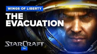 StarCraft 2- Wings of Liberty - Mission (Optional) - The Evacuation Walkthrough - Hard Difficulty