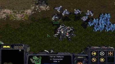 Starcraft Brood War - Terran Mission 6 Emperor's Flight