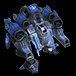 Special forces viking assault icon