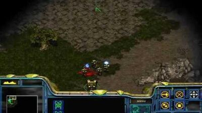 Starcraft - Protoss Mission 2 Into the Flames