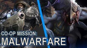 Starcraft 2 Co-Op Mission Malwarfare Ally is Dehaka!