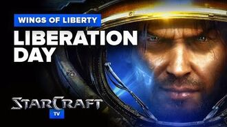 StarCraft 2- Wings of Liberty - Mission 1 - Liberation Day Walkthrough - Hard Difficulty