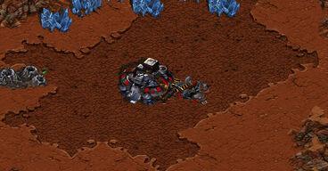 Estrutura Terrana SCO Central de Comando com Estação01
