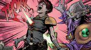 KyraDeath Scavengers Comic1