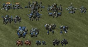 SC2 Merc Models Rend