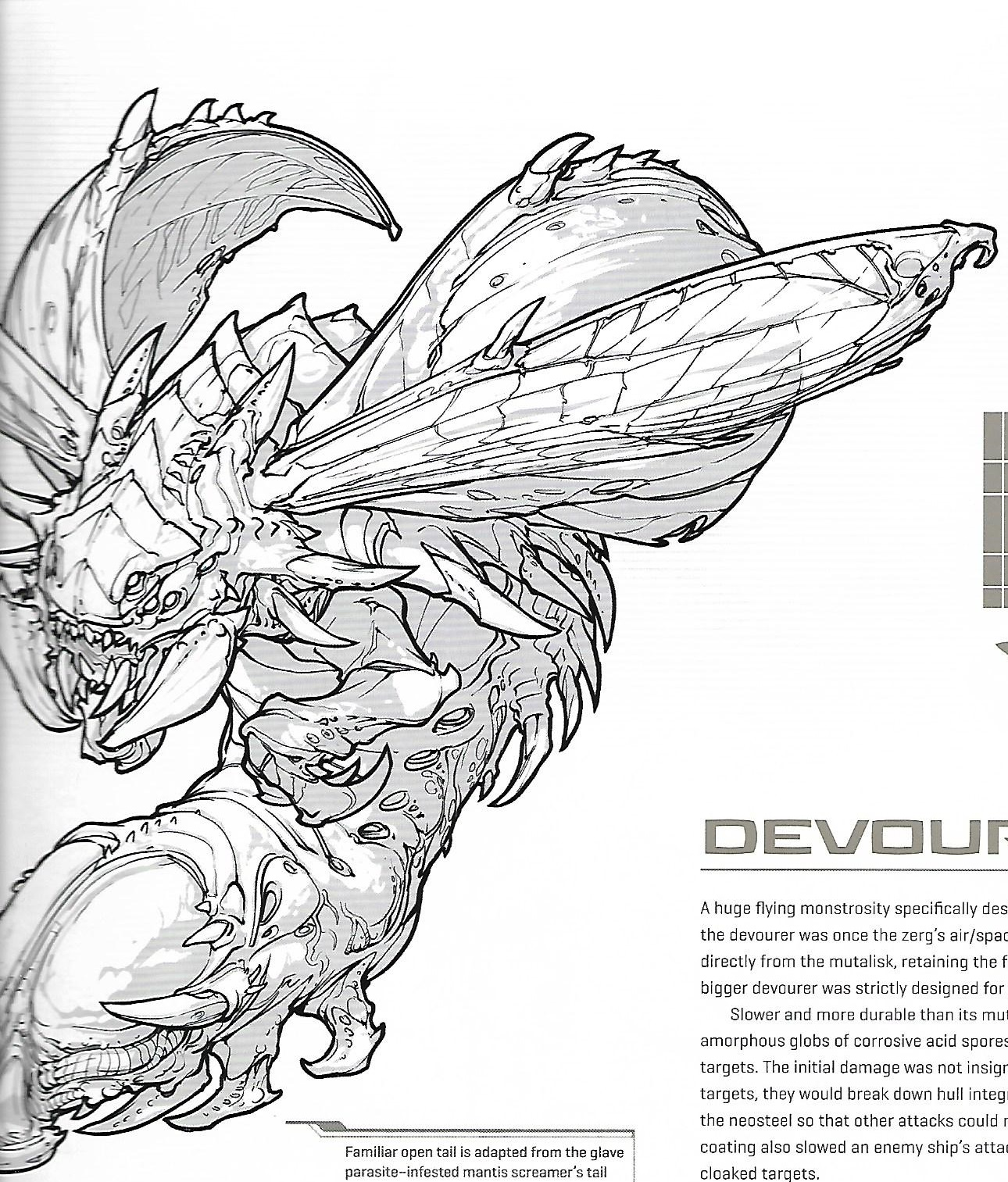 The Devourers Current Morphology