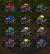 Starcraft color palette