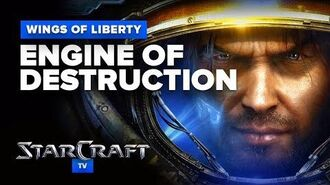 StarCraft 2- Wings of Liberty - Mission (Optional) - Engine of Destruction Walkthrough - Hard