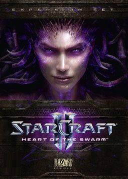 StarCraft II Heart of the Swarm Game Cover