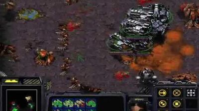 Starcraft Brood War - Terran Mission 8 To Chain the Beast + Ending