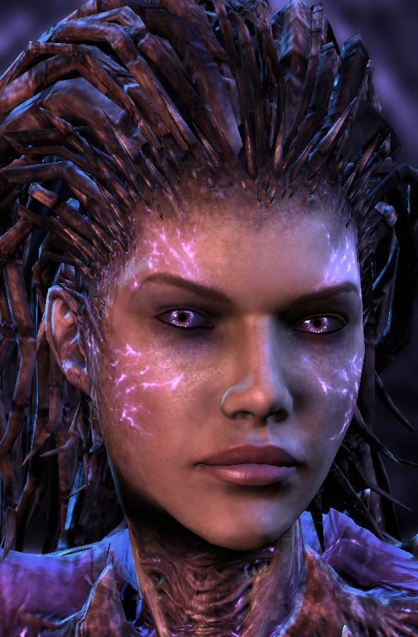 Sarah Kerrigan Heart Of The Swarm Starcraft Wiki Fandom