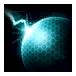 Ícone SCII Aprimoramento Protoss Escudos de Plasma Nível2