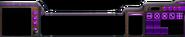 Console SC2 Protoss Arcade Roxo