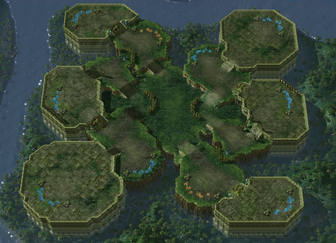 Starcraft 2 Maps Steppes of War   StarCraft Wiki   FANDOM powered by Wikia Starcraft 2 Maps