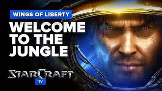 StarCraft 2- Wings of Liberty - Mission (Optional) - Welcome to the Jungle Walkthrough - Hard