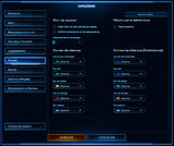 Menu Opções do Jogo SCII Cores01
