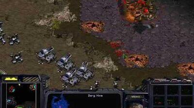 Starcraft Brood War - Terran Mission 3 Ruins of Tarsonis