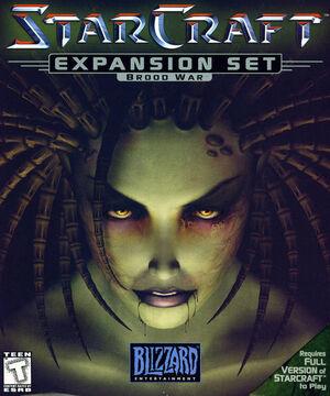 StarCraft Brood War Game Cover