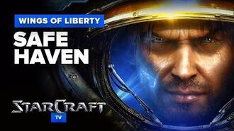 StarCraft 2- Wings of Liberty - Mission (Optional) - Safe Haven Walkthrough - Hard Difficulty