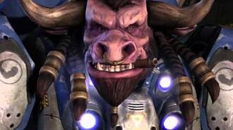 StarCraft 2 - Tauren Space Marine Quotes