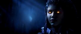 Królowa Ostrzy rozmawia z Zeratulem