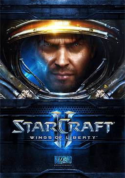 StarCraft II Wings of Liberty Game Cover