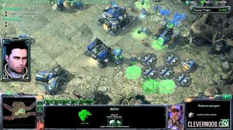 The Great Train Robbery Starcraft II Brutal Mode Walkthrough (HD - Max Settings)