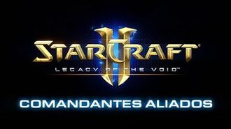 StarCraft II- Legacy of the Void - Adelanto de Comandantes Aliados