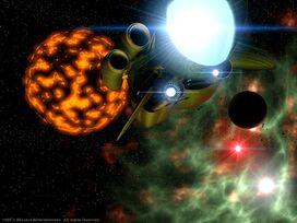 Nave Protoss Sobre Char (Starcraft 1)