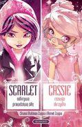 Książka Scarlet, Cassie