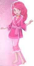 Libby w piżamie