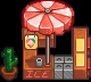 Магазин мороженого лето