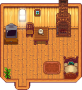 House indoors (tier 1)