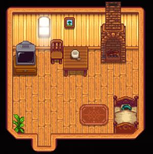 House indoors (tier 1)