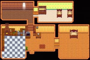 House indoors (tier 3)
