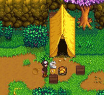Stardew linus's Tent