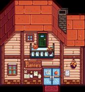Магазин Пьера осень