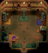 Witch's Hut Interior