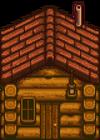 Бревенчатый домик1