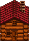 Бревенчатый домик2