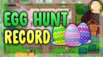 Stardew Valley - EGG HUNT RECORD 14 eggs